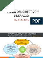 Trabajo Del Directivo y Liderazgo