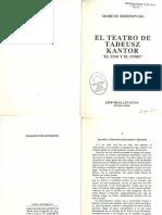 El teatro de Tadeuz kantor.pdf
