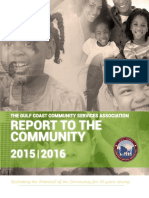 GCCSA 2015-2016 Report to the Community