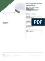 Probeta Polipropileno-Análisis Estático 1-1