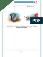 Norma Técnica Ntp 400.017 Volumen Unitario Corr