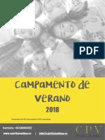 PDF Campamento de Verano 2018