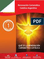 Modulo 1 Que Es La Renovación Carismatica Argentina 1