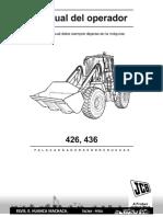 Cargador Frontal JCB 426
