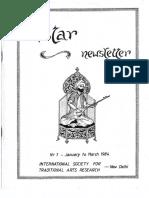 ISTAR Newsletter 1