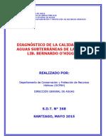 Diagnostico Calidad Aguas Subterraneas VI Region 2015