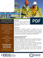 Audit Int ISO 45001 2015 Guate