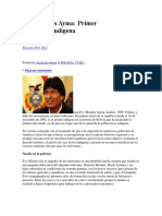 Evo Morales Ayma