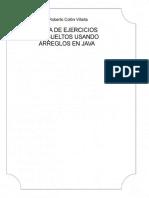 eBook en PDF Guia de Ejercicios Resueltos Usando Arreglos en Java