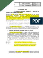 104999853 Acta de Formacion de Comite de Seguridad y Salud en El Trabajo