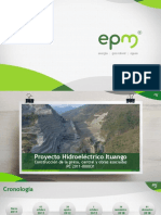 Proyecto Hidroeléctrico Ituango Construcción de la presa, central y obras asociadas PC 2011-000031