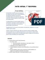 Valvulopatía Mitral y Tricupidea (Degraba 2018-i)