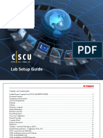 CSCU Lab Setup Guide