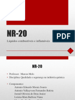 Líquidos Combustíveis e Inflamáveis - NR20