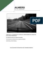 Curva Geometría Influye el comportamiento de los conductores