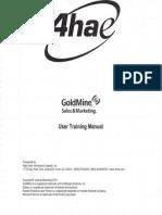 Goldmine Training Program