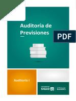 Auditoría de Previsiones