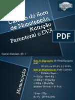 calculo do soro de manutenção, NPT e DVA.ppt