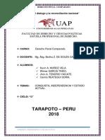 Conquista,Independencia,Estado Actual- Grupo 3