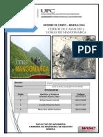 INFORME de Mineralogia.