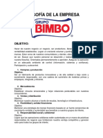 Filosofia Grupo Bimbo.