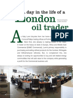 Life of London Oil Trader