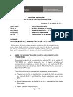 Tribunal Resol 547 2011 SUNARP TR A