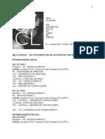Programação - Sem Clarice - Um Colóquio Pelos 40 Anos de Morte - Versão Final (1)