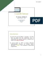 Cours de Contrôle Interne 2018 PDF OK