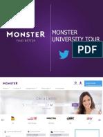 Monster University Tour DEF 2017