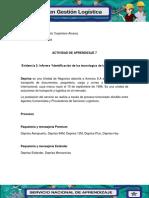 """Evidencia 3 Informe """"Identificación de Las Tecnologías de La Información"""""""