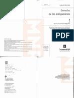 Derecho de Las Obligaciones - Tomo I - Teoría General de La Obligación (Año 2016) - Calvo Costa, Carlos Alberto