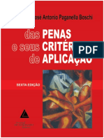 José Antonio Paganella Boschi - Das Penas e Seus Critérios de Aplicação (2013)
