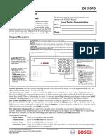 F01U078751-02 D1255RB D1256RB Operating Instructions
