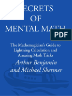 Arthur Benjamin, Michael Shermer - Secrets of Mental Math_ The Mathemagician's Guide to Lightning Calculation and Amazing Math Tricks (2006).en.es.pdf