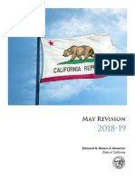 California budget proposal, May revision