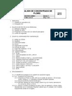 PET-MAL-LA-03.11 Analisis de Concentrado de Plomo