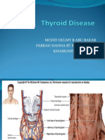 Thyroid Carcinoma Presentation