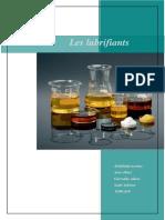 Rapport Caractéristique Pétrole