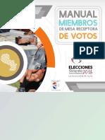 Manual Miembros Mesa 2018