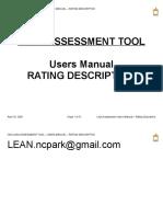 Lean Assessment Tool