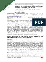 Villarruel Manuel-La Educacion Superior en El Contexto de La Sustentabilidad