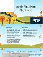apple unit plan ppt
