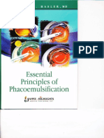 Essencial Principles of Phacoemulsification