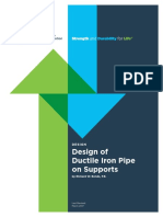 DuctileIronPipeonSupports