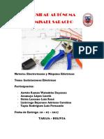 Electrotecnia Informe FINAL