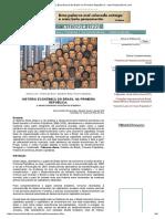 História Econômica Do Brasil Na Primeira República - Www.historialivre