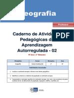 Geografia Regular Professor Autoregulada 9a 2b