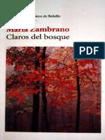 Zambrano, Maria - Claros del bosque.pdf