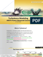 Turbulence Modeling - Beta